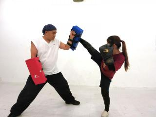 Personaltraining kickboxing